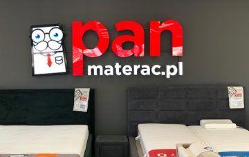 Litery Świetlne dlaPan Materac.
